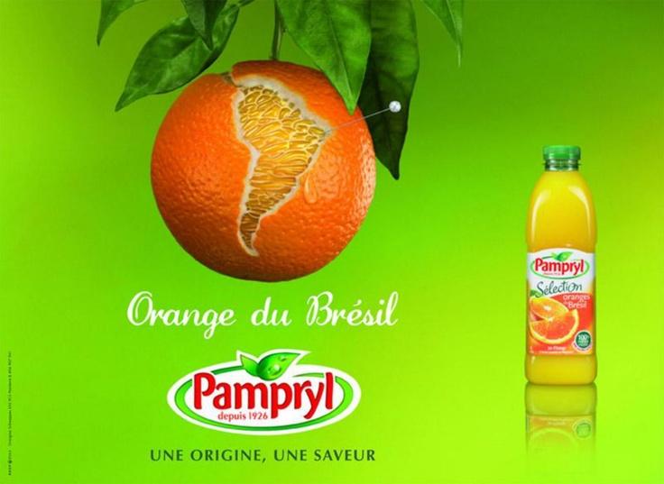 Pampryl - Une origine, une saveur - Orange du Brésil
