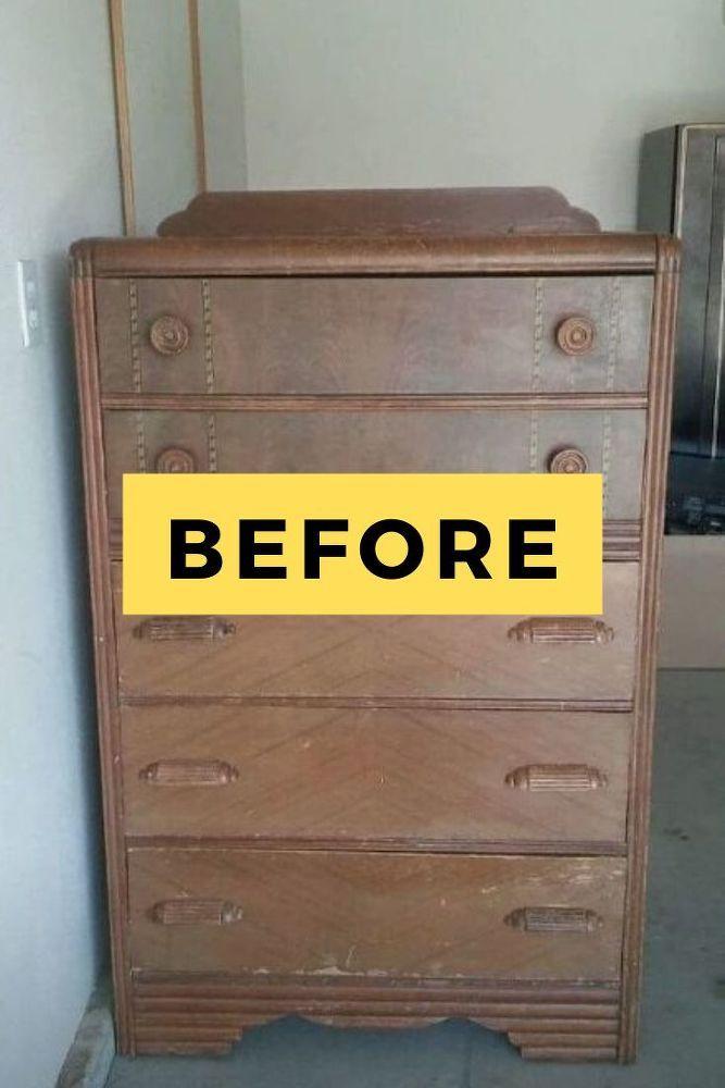 Diy Farmhouse Dresser Makeover Idea In 2020 Diy Dresser Farmhouse Dresser Diy Dresser Makeover