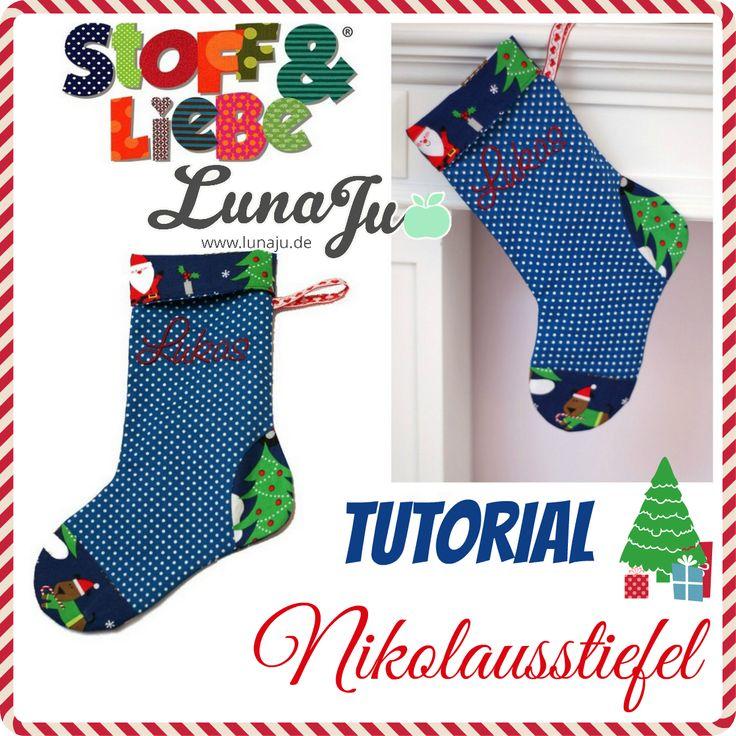 Stoff & Liebe Nikolausstiefel