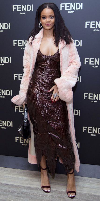 Rihanna in Fendi