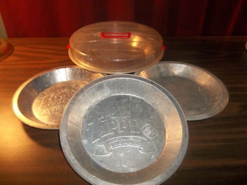 Vintage-Lot-O-3-J-J-Tippins-Pie-Tins- & 20 best vintage tin pie plates images on Pinterest | Vintage tins ...