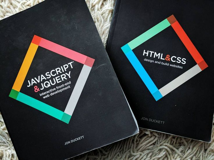 These too books are everything you need for front end web development! And maybe a few courses on codecademy! . . . . #html #html5 #css #css3 #javascript #jQuery #website #webdev #developer #code #programming #design #php #ruby #rails #startup #codecademy