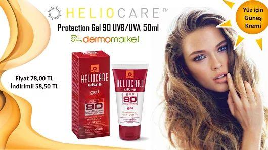 Heliocare Ultra Protection Gel 90 UVB/UVA 50ml Yüz için Güneş Ürünleri  Fiyat 78,00 TL İndirimli Fiyat 58,50 TL  Ürünü detaylı incelemek için : http://www.dermomarket.com/Heliocare-Ultra-Protection-Gel-90-UVBUVA-50ml,PR-11043.html  #heliocare #heliocareürünleri #güneşürünleri #yüzgüneşürünleri #indirim #kampanya #sağlık #bronzlaşma #dermokozmetik #güzellik #sivilce #akne