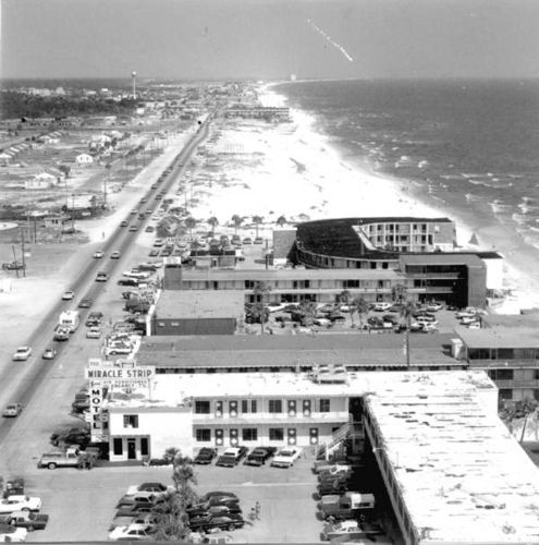 Vintage~Front Beach Road Panama City Beach