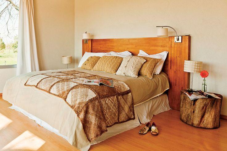 6 estilos para decorar tu cuarto  Una linda cabecera de cama puede ser el toque especial. Foto:Archivo LIVING