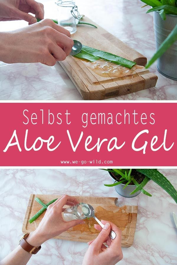 Sie sollten anfangen, Aloe Vera Gel selbst zu machen! Es ist viel billiger als …   – DIY Kosmetik selber machen