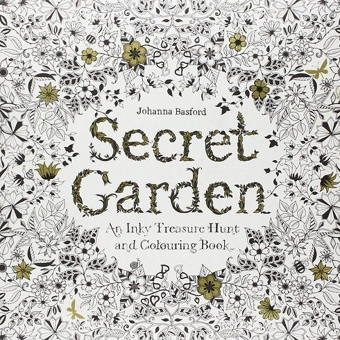 Secret Garden By Johanna Basford Adult ColoringColoring BooksJohanna