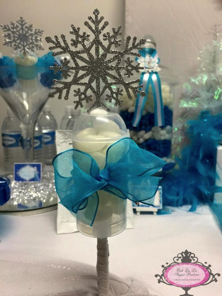 Ooh la la Sugar Parlour - Frozen Lolly Buffet.....Snow Queen Wand
