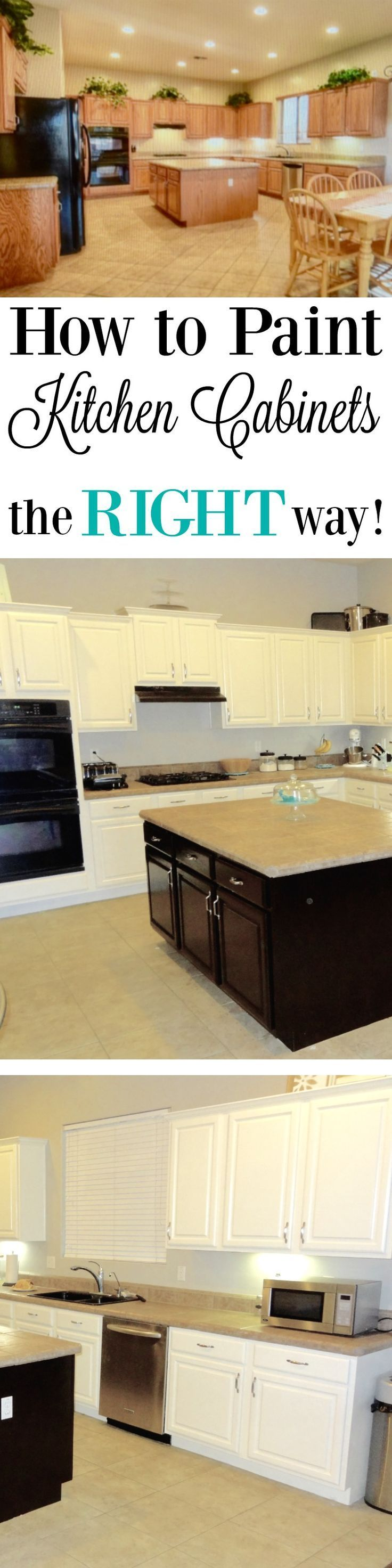 how to paint kitchen cabinets white - Best Way To Paint Cabinets