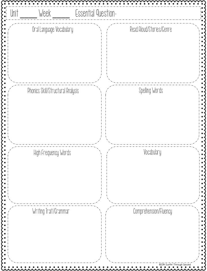 17 best images about Wonders mc graw hill ideas kindergarten on - curriculum planning template