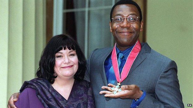 They'll have to age him up with makeup but I can't think of anyone who would be better for Mr. Nancy in American Gods. Lenny Henry and Dawn French