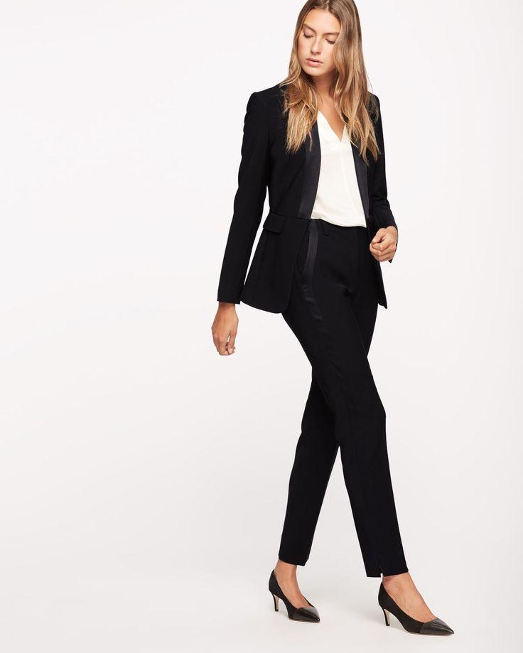 Guinevere Wool Tuxedo Jacket - See All Women's Sale - Sale