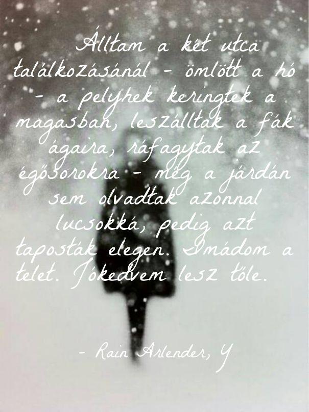 Havazás hó tél fehér ekönyv szöveg Y Rain Arlender http://syllabux.hu/books/y?id=164