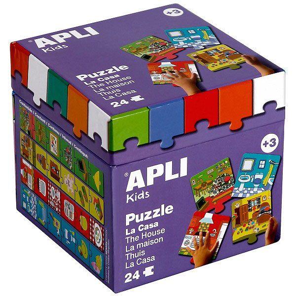 A ház puzzle 24 db Apli Kids
