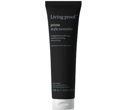 20 Under $20: Best Hair Product Buys: Living Proof Prime Style Extender is like primer for your face (except it's for your hair) and enhances the benefits of styling product layered on top #SelfMagazine