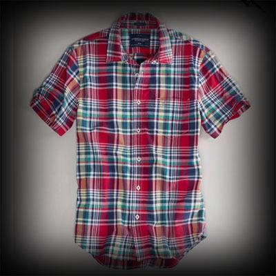アメリカンイーグル メンズ シャツ American Eagle AE PLAID SHORT SLEEVE SHIRT シャツ-アバクロ 通販 ショップ-【I.T.SHOP】 #ITShop