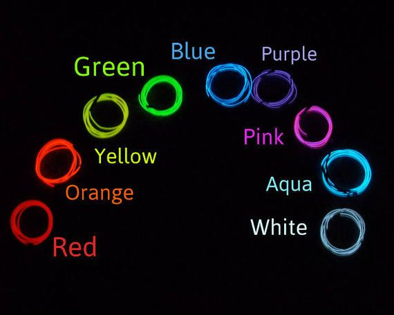 20-foot (6m) EL Wire Kit - Electroluminescent Wire - Glow Wire - AA Inverter…  https://djs.durban