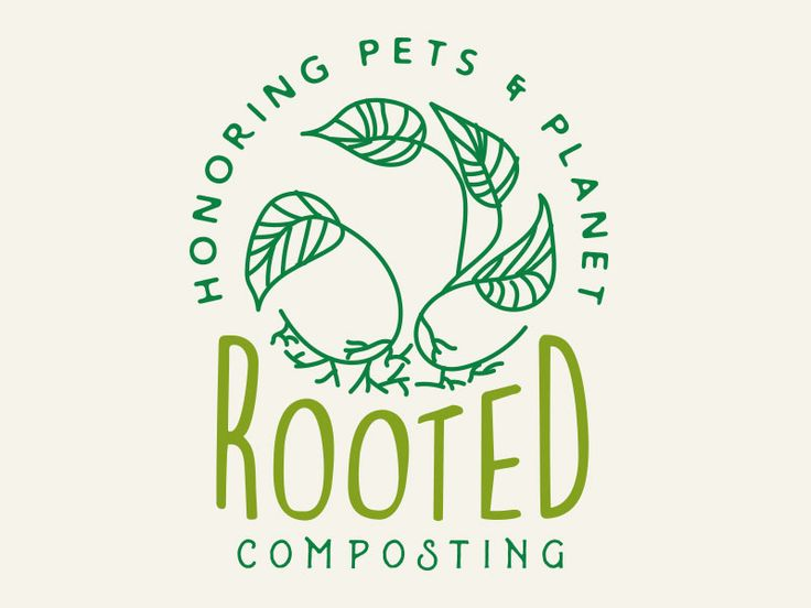 Rooted Logo Concept by Redneck Superhero