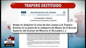 Resultado de imagen de gobierno de catalunya cesado