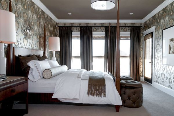 Best 15 Bedroom Wallpaper Ideas Styles Patterns And Colors 640 x 480