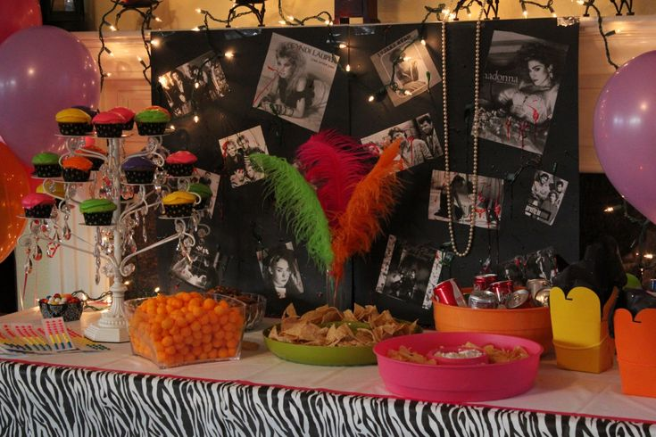 15 best images about 30th bday 80s party ideas on for 80 birthday party decoration ideas