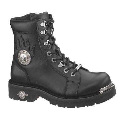 Harley-Davidson Men's Diversion Boot,Black,9 M - http://authenticboots.com/harley-davidson-mens-diversion-bootblack9-m/