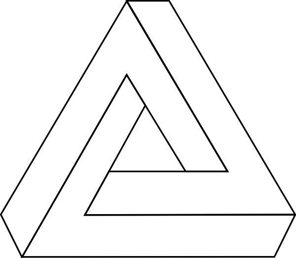Holy trinity tattoo design