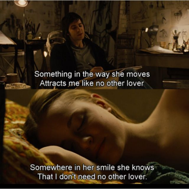 I love both versions of this song. Across the Universe- Something