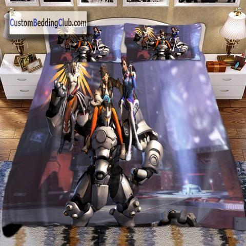 Overwatch Bedding Set, Bed Sheets U0026 Duvet Cover