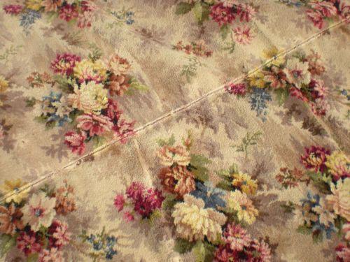 Vintage 50 S Floral Carpet Granny Chic Pinterest
