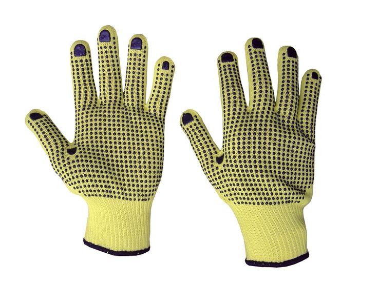 Kevlar Gloves - Strong grip and cut resistant.