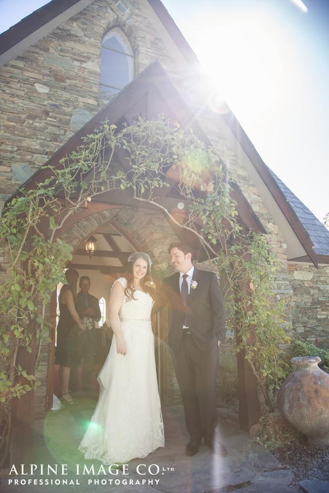 Chapel on the Lake, Lake Hayes Wedding - Photography by Alpine Image Co.
