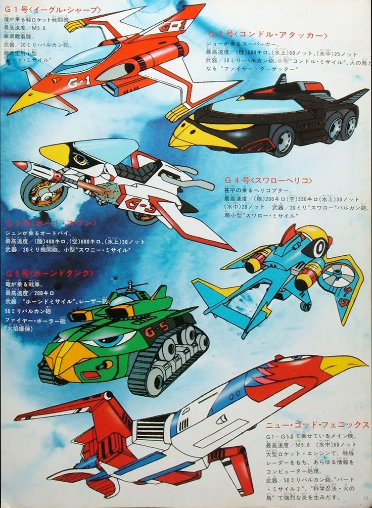 battle of the planets vehicles -#main