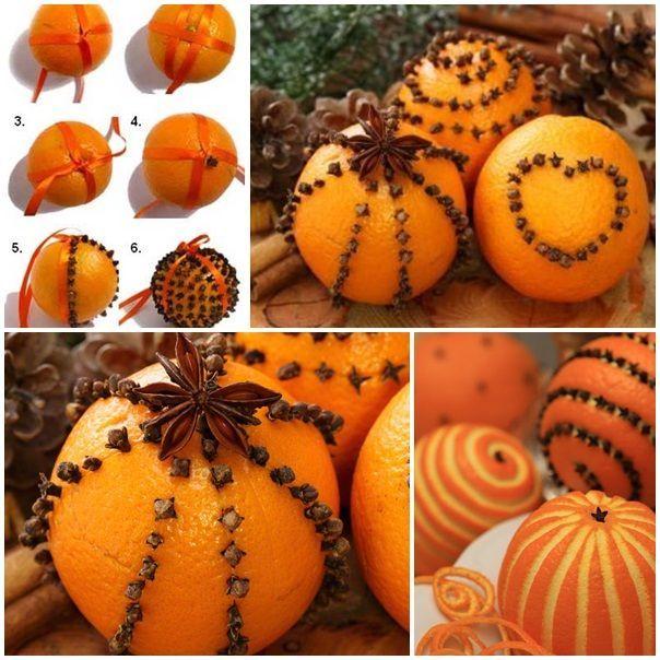 Homemade Orange Clove Pomander Project - The Homestead Survival - Christmas