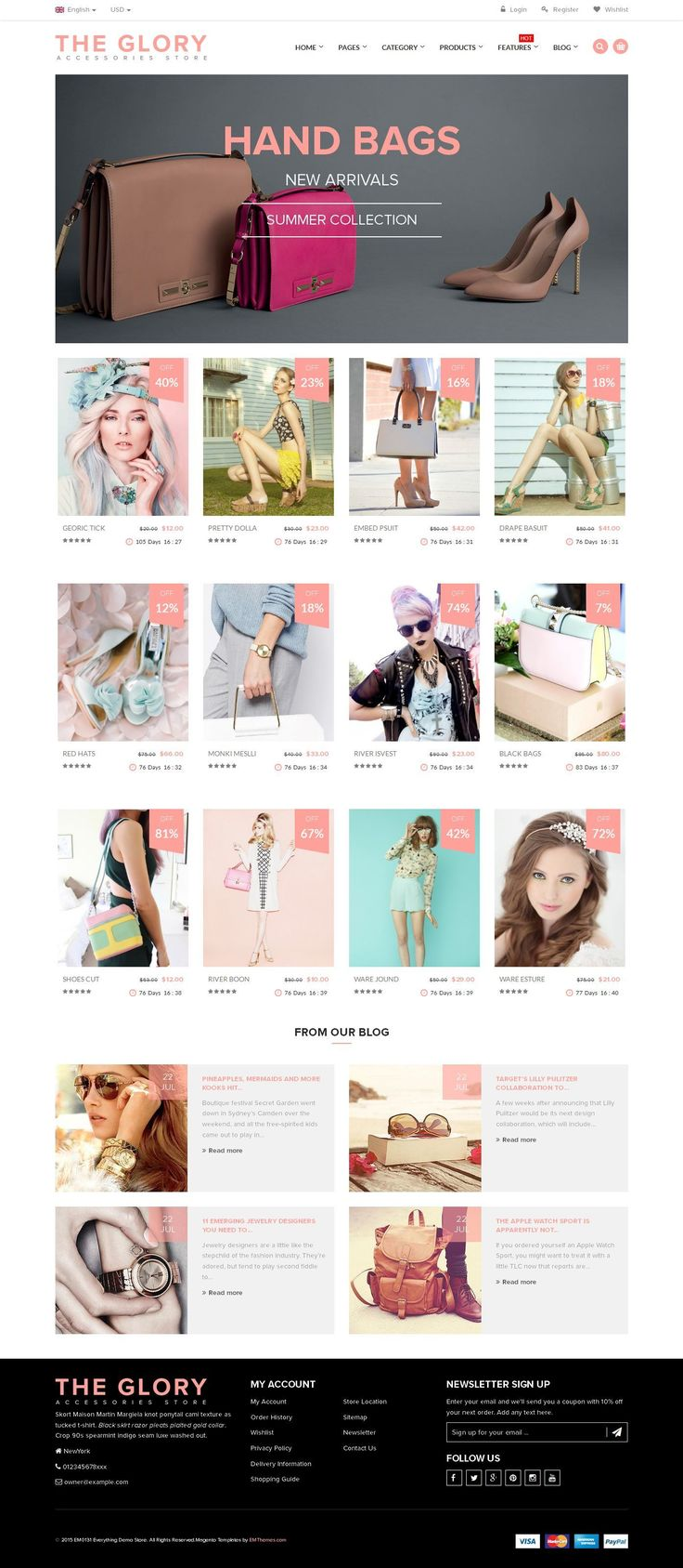 html5 css3 menu bootstrap responsive magento css3 minimal minimal clean theglory multipurpose group deal clean decor decor gift