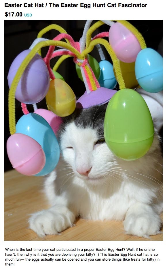 Easter for cats...