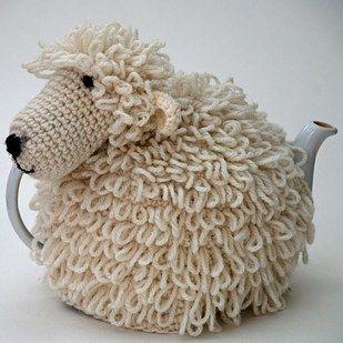 Un calentito artículo que convierte tu tetera en un elefante u oveja…