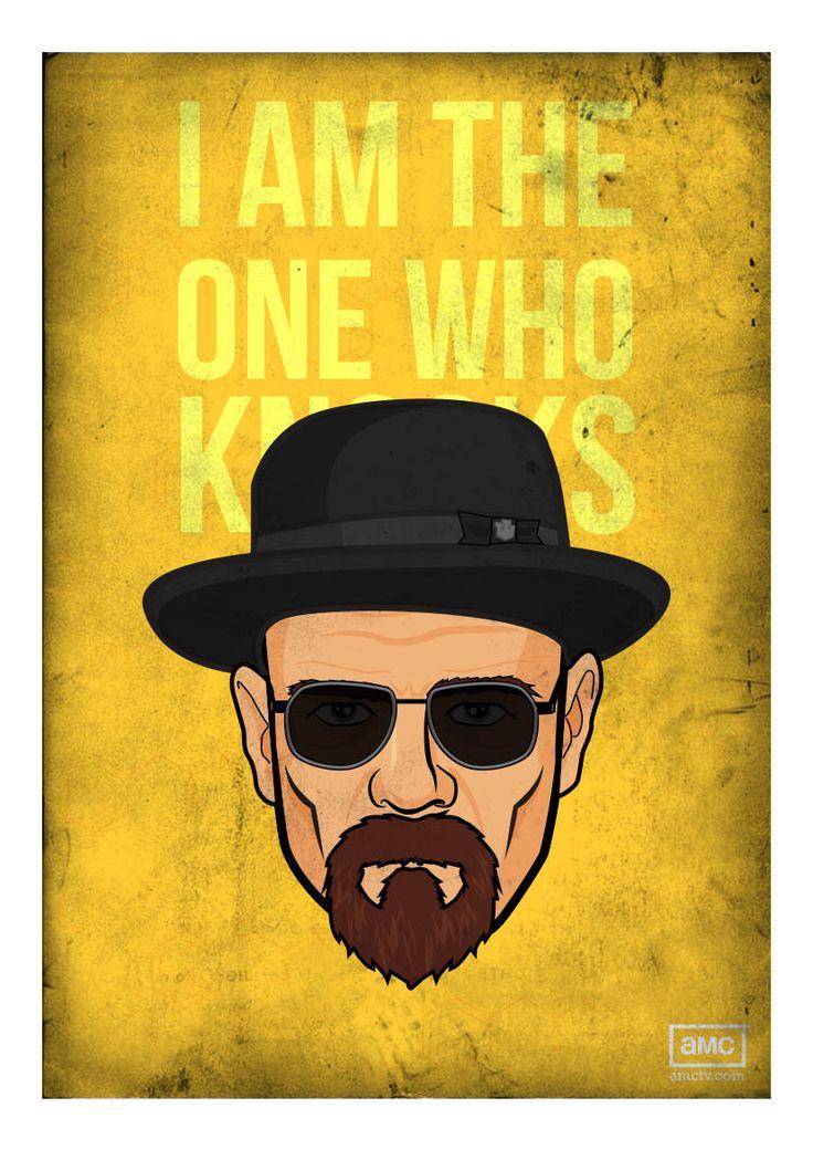 I am the one who knocks! Breaking Bad: Heisenberg! | art ...