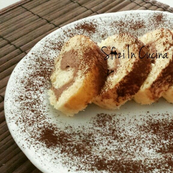 Rotolo di gelato. http://blog.alice.tv/sfiziincucina/