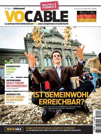 Vocable allemand (23 juin)
