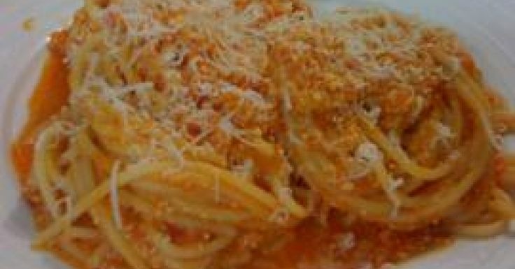Red Pepper and Ricotta pasta sauce