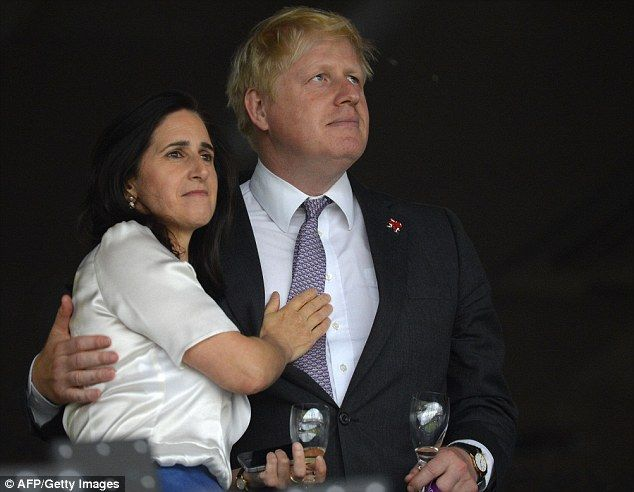 Marina Wheeler, pictured with her husband Boris Johnson, last week wrote a damning legal assessment of the Prime Minister's draft proposals for reforming Britain's membership of the EU