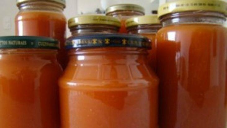 Receita do melhor molho de tomate caseiro