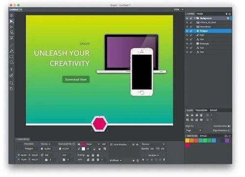 """Gravit : un """"Photoshop"""" gratuit en ligne"""