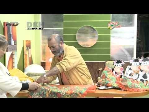 3º clase: Vistiendo la cocina (bolsa para el pan) - YouTube