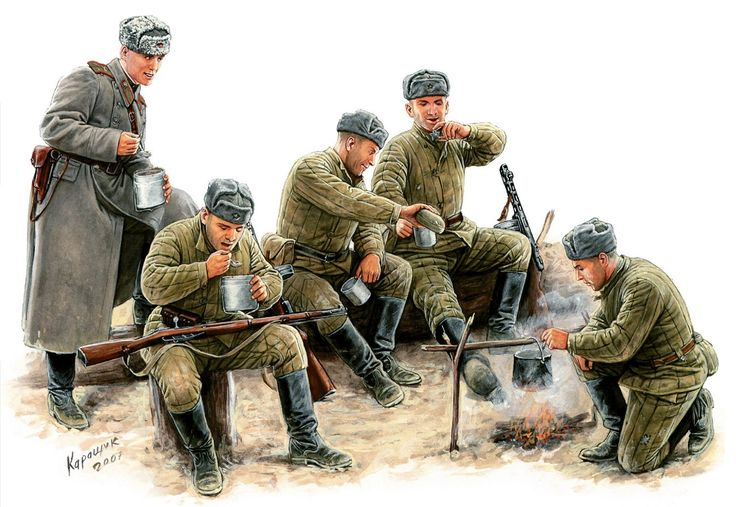 New: Soviet Infantry (Winter) plastic boxed set • Warlord Games