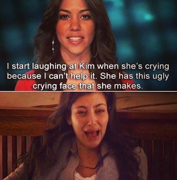 Keeping up with the Kardashians...... Ugh Kim you is somethin else