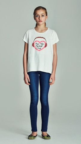 Love Nikita SINGING HEART TSHIRT LN-402