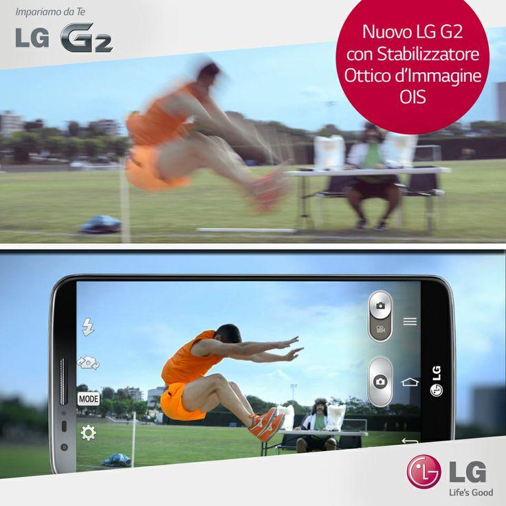 La qualità delle immagini è paragonabile a quella delle reflex digitali: scopri le performance della fotocamera di #LGG2 #Photography #Athlets #Sport