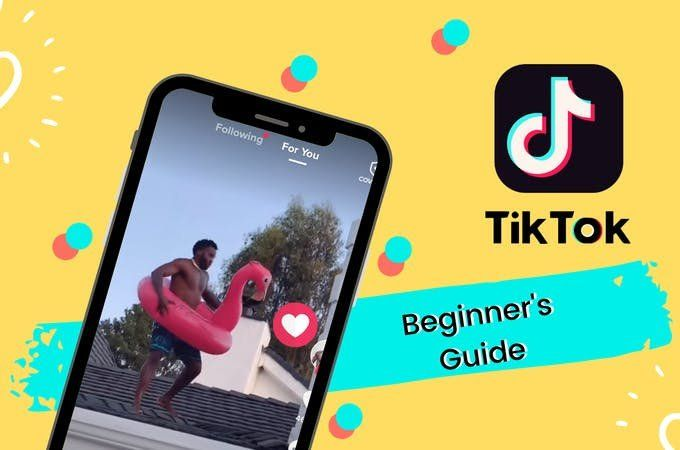 Tiktok Guide For Beginners How To Film And Edit Your First Tiktok Video Beginners Guide Trending Hashtags